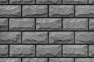 Texture of grey decorative tiles