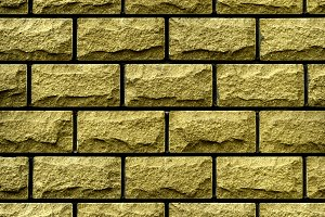 Texture of gold decorative tiles