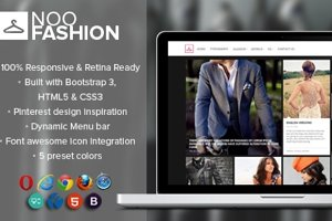Fashion - Blog & Portfolio Template