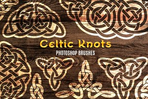 58 Celtic Knots Brushes