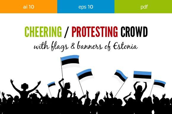 Cheering Crowd Estonia