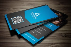 Vertical Photography Business Card