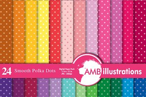 Polka dot tone on tone paper AMB-411