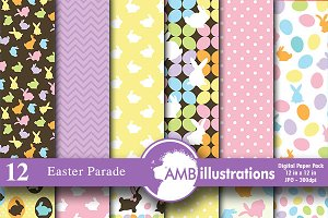 Easter Digital Papers,  AMB-390