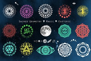 Beautiful Sacred Geometry Designs