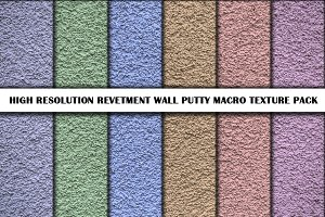 High resolution putty wall textures