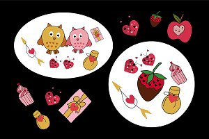 №63 A collection of love patterns