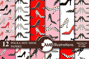 Polkadot Shoes Papers AMB-373