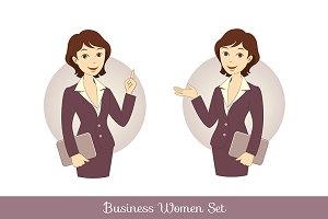 Business person set
