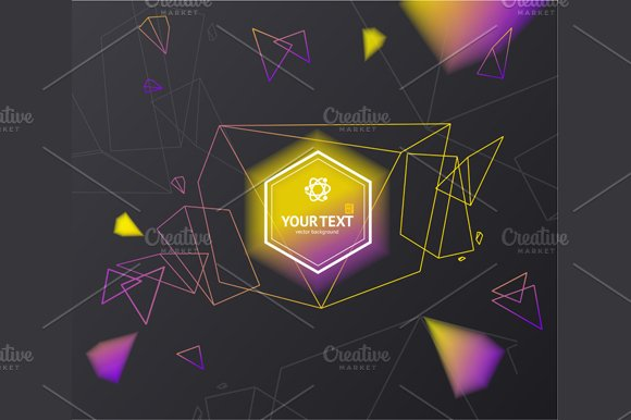 Abstract Background. Vector - Illustrations