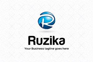 Ruzika Logo Template