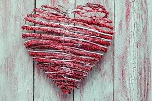 corazon,decoracion de navidad