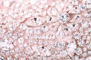 Pink wedding sparkle
