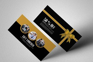 Corporate Business Gift Voucher Temp