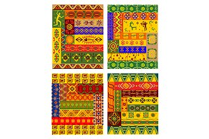 Ethnic abstract pattern in african s