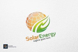 Solar Energy / Globe - Logo Template