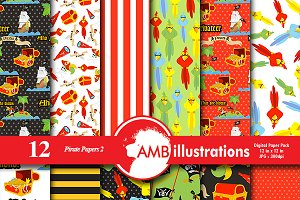 Pirate digital papers, AMB-180