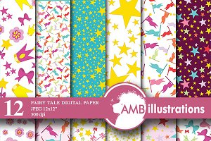 Fairy Digital Papers AMB-510