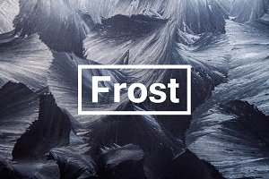 Frost - 15 Textures