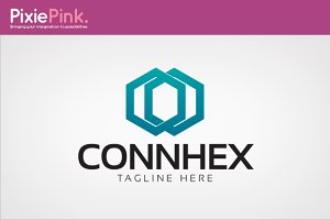Connhex Logo Template