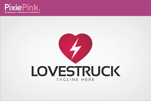 Love Struck Logo Template