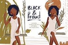 Black & Proud. Big Beauty Set. - 50%