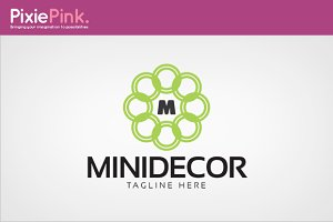 Mini Decor Logo Template