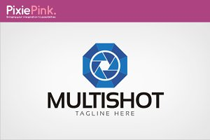 Multi Shot Logo Template