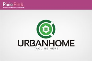 Urban Home Logo Template
