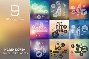 9 North Korea infographics