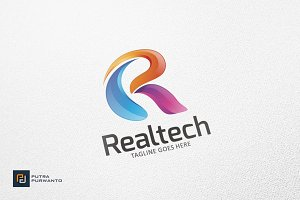 Abstract R Letter - Logo Template