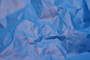 blue wrapping paper
