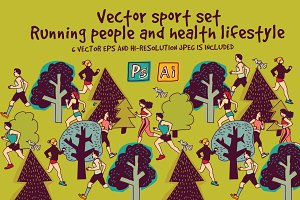 Vector running set