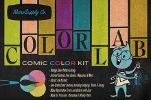 ColorLab Illustrator Vintage Comic by  in Add-Ons