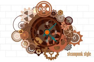 Steampunk watch