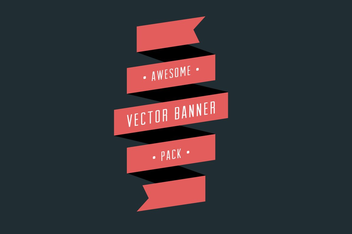 Vector Banner Pack ~ Graphic Objects ~ Creative Market