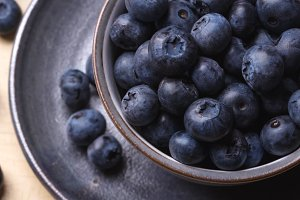 Variety of berries