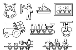 Industrial and manufacturing process