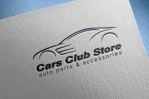 Cars Club Store Logo