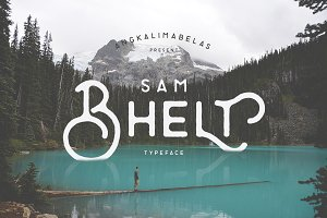 Bhelt Typeface