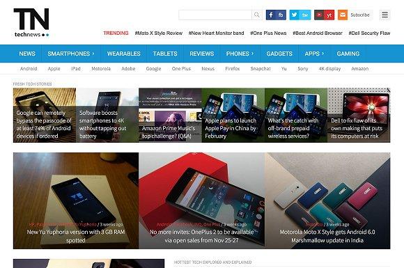 TechNews - Technology Magazine Theme