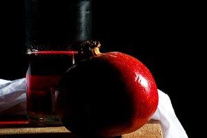 tasty ripe pomegranate