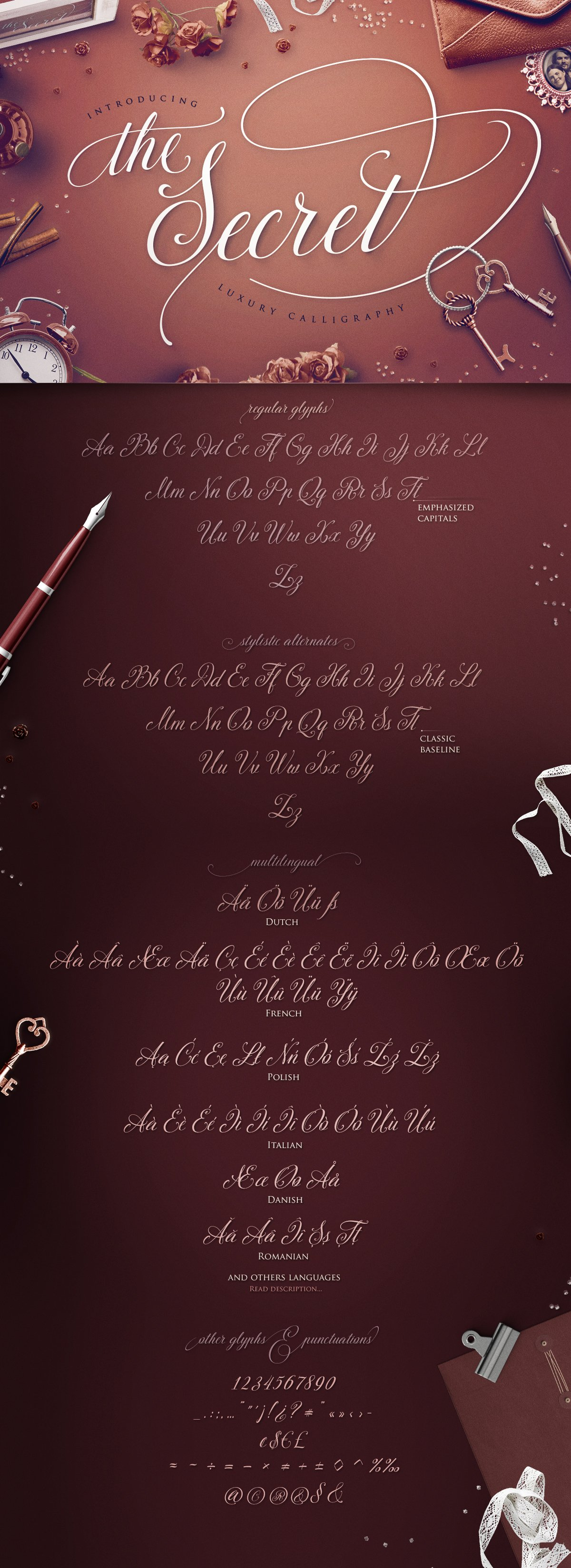 30 Impressive Calligraphy Fonts That Look Just Like the Real Thing ...