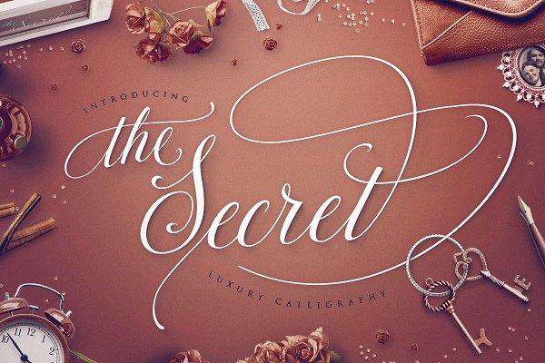 TheSecret: Luxury Calligraphy Scrip…