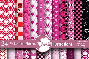 Valentines Hearts AMB-323