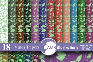 Vines Digital Papers AMB-333