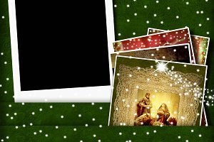 Christmas Cards photo frame