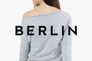 BERLIN - Minimal Typeface + Web Font