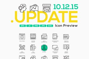 100 Business Concept Icons