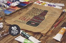 10 Art Equipment Mockups vol.3